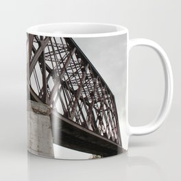 Friesland, WI Iron Rail Bridge Coffee Mug
