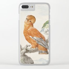 Two Exotic Birds - Vintage Tropical Decor Clear iPhone Case