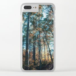 into the woods 07 Clear iPhone Case