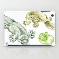 platypus iPad Cases featuring Platypus by Mayra Boyle