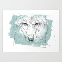 wolf2 Art Print