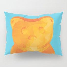 Gummy Bear Polygon Art Pillow Sham
