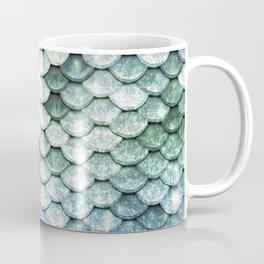 Pastel Mermaid Tail Blue Green Coffee Mug