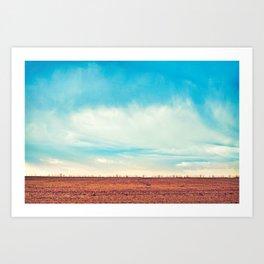 Country Sky Art Print