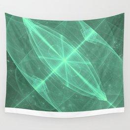Green Galaxy of Sir Douglas Fresh [Torus of Love Version] Wall Tapestry