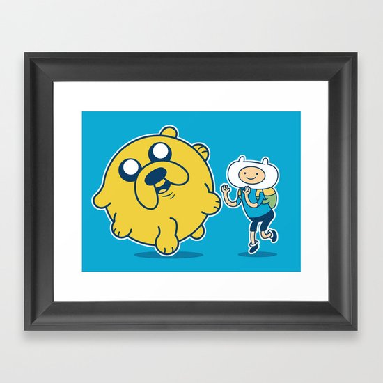 Katamari Time! Framed Art Print