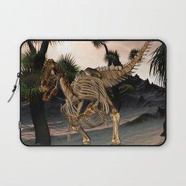 Awesome t-rex skeleton Laptop Sleeve