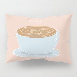 Italian coffee sketch Pillow Sham