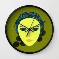 nausicaa Wall Clocks featuring nausicaa by juni