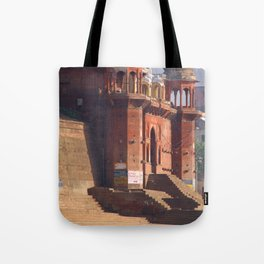 Chet Singh Ghat Tote Bag