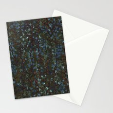 green fleur Stationery Cards