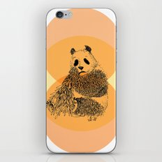 saving panda iPhone & iPod Skin