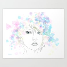Beauty in Chaos Art Print