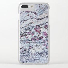 GeologyRocks_16 Clear iPhone Case