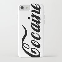 cocaine iPhone & iPod Cases featuring Cocaine by Jeef