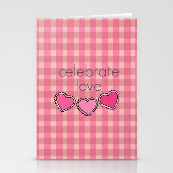 Celebrate Love! Stationery Cards