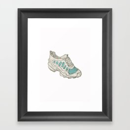 The perfect shoe Framed Art Print