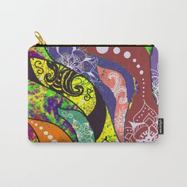 Boho Octopus Carry-All Pouch