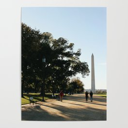 Walking on the Mall Poster