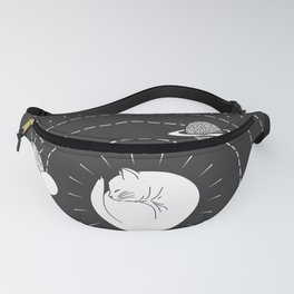 The Space Cat Fanny Pack