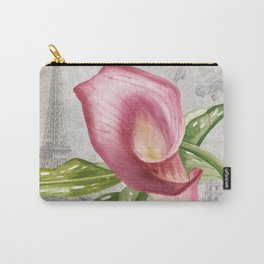 Macro Flower #4 Carry-All Pouch