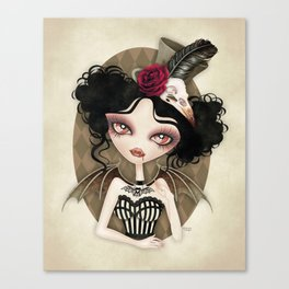 Countess Nocturne Vampire Canvas Print