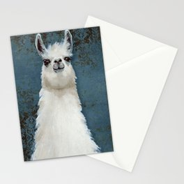 Hello Llama Stationery Cards