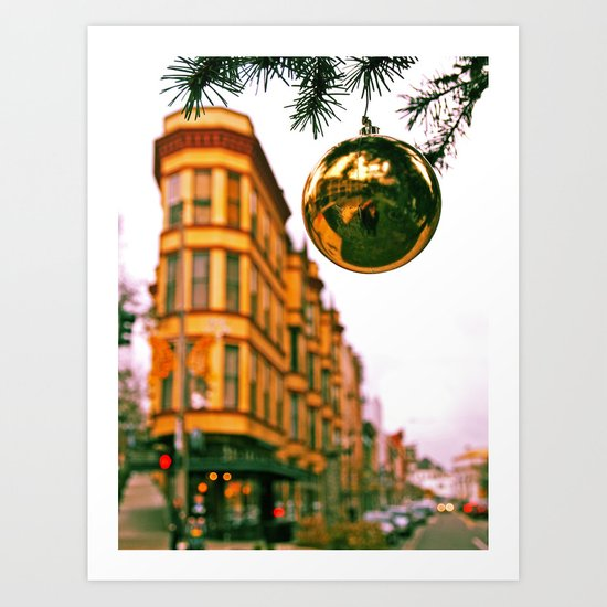 Christmas everywhere Art Print