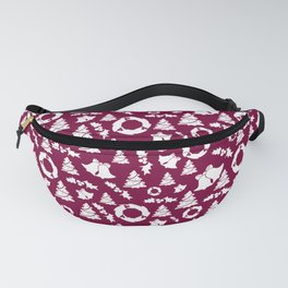 Christmas Holiday Pattern Fanny Pack