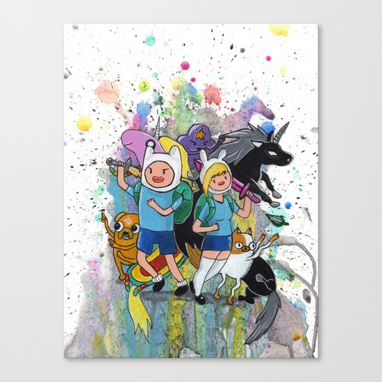 It's Time... It's ADVENTURE TIME Canvas Print