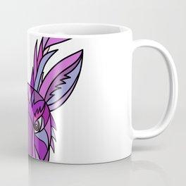 Jackalope Head Front Mosaic Coffee Mug