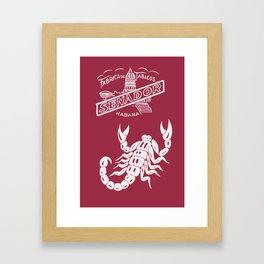 SENADOR CIGARS Framed Art Print