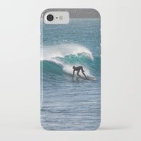 surfer iPhone & iPod Cases featuring Surfer by MapMaster