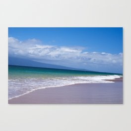 Let's Meet In Between Said The Ocean To The Shore Canvas Print