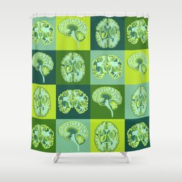 Brain Sections Shower Curtain