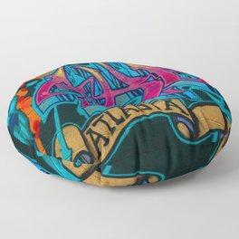 ATL Graffiti Floor Pillow