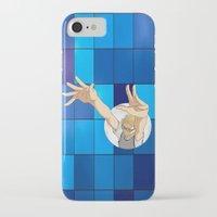 haikyuu iPhone & iPod Cases featuring Tsukishima Kei - Haikyuu!! - block by anywayimnikki