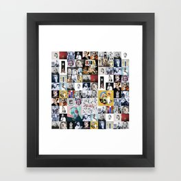 Mac Miller Mix 01 Framed Art Print