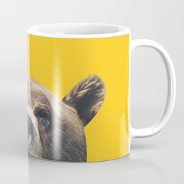 Bear - Yellow Coffee Mug