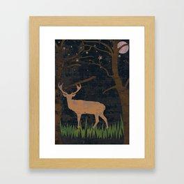 Glory of the Night Framed Art Print