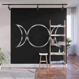 Triple Goddess Symbol Wall Mural