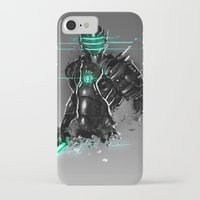 suit iPhone & iPod Cases featuring Omega Suit by Benedick Bana