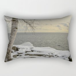 Curves of the Silver Birch by Teresa Thompson Rectangular Pillow