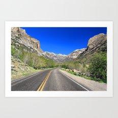 Lamoille Canyon Art Print