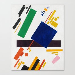 Suprematist Composition by Kazimir Malevich, 1916 Canvas Print