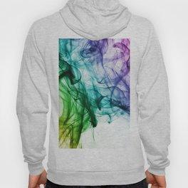 Multicolor Smoke Effect Hoody