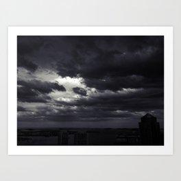 Cloudbank - 5 Art Print