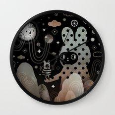 Nighty Night Wall Clock