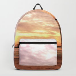 Sunset on the Harbor Backpack