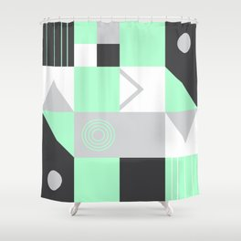 Geometrie Shower Curtain